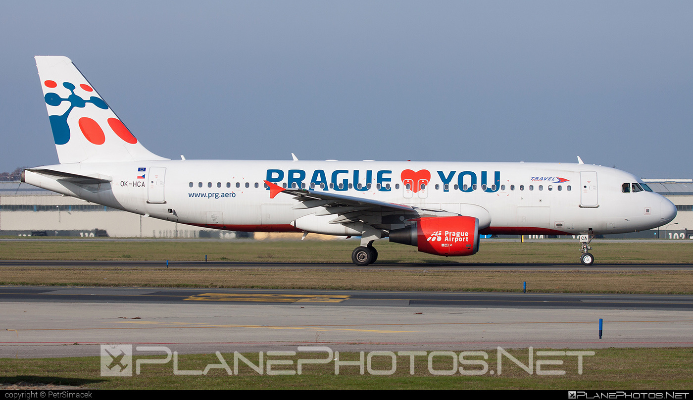 Airbus A320-214 - OK-HCA operated by Travel Service #a320 #a320family #airbus #airbus320 #travelservice