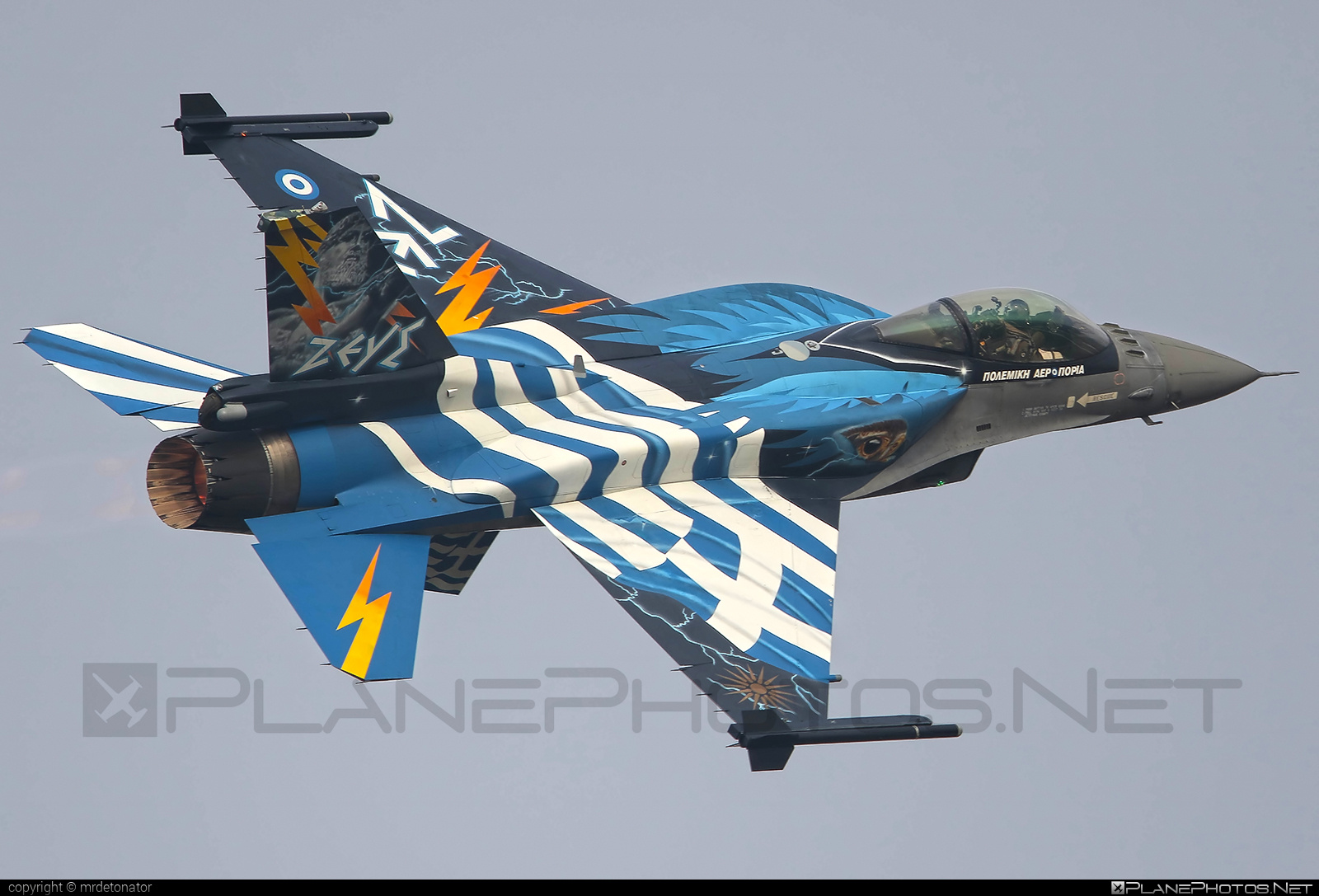 Lockheed Martin F-16CJ Fighting Falcon - 523 operated by Polemikí Aeroporía (Hellenic Air Force) #f16 #f16cj #fightingfalcon #hellenicairforce #lockheedmartin #natodays #natodays2015 #polemikiaeroporia
