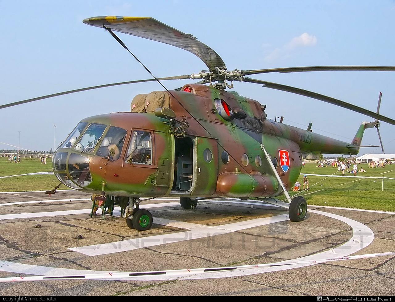 Mil Mi-17 - 0826 operated by Vzdušné sily OS SR (Slovak Air Force) #mi17 #mil #mil17 #milhelicopters #slovakairforce #vzdusnesilyossr