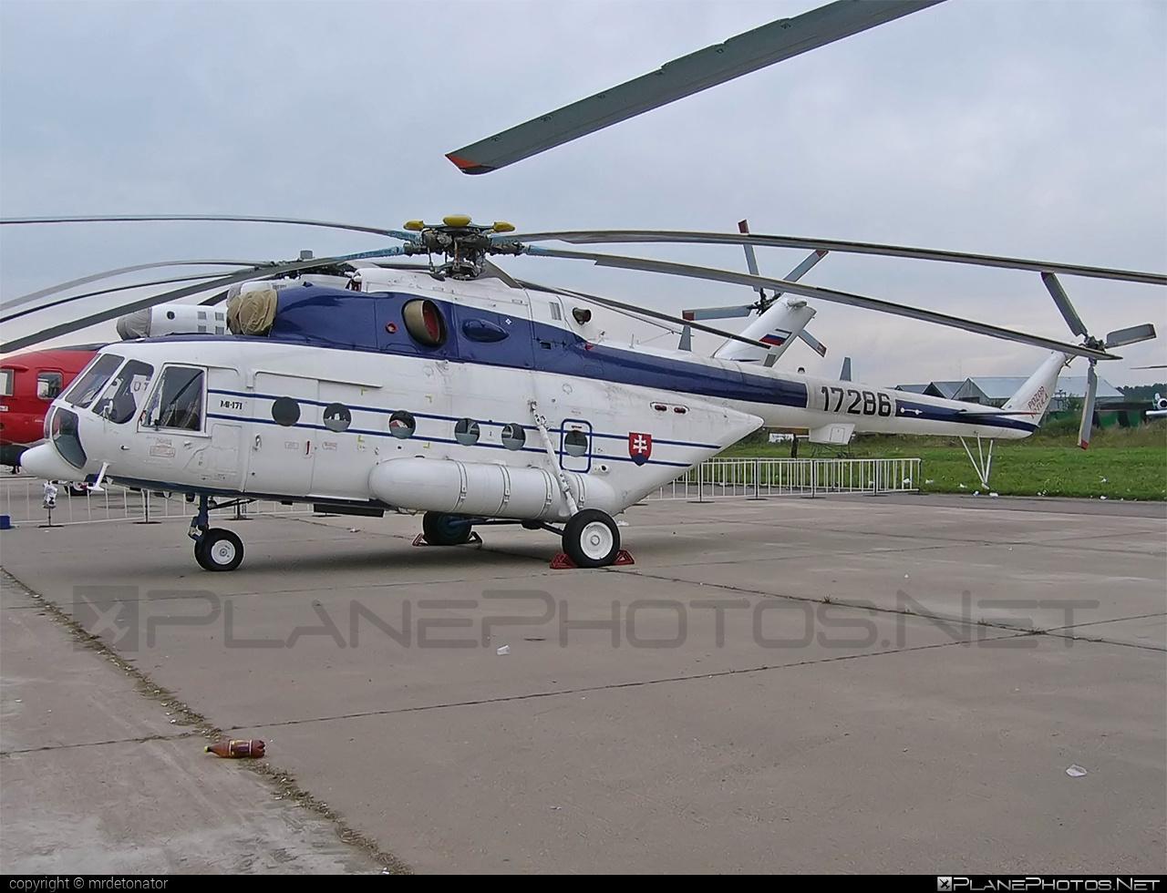 Mil Mi-171 - B-1786 operated by Letecký útvar MV SR (Slovak Government Flying Service) #mi171 #mil #mil171 #milhelicopters