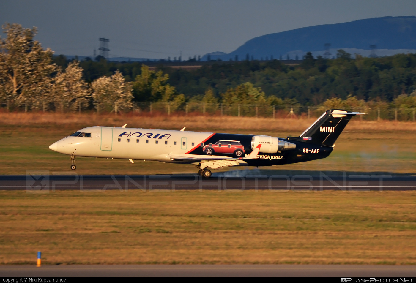 Bombardier CRJ200LR - S5-AAF operated by Adria Airways #bombardier #crj200 #crj200lr