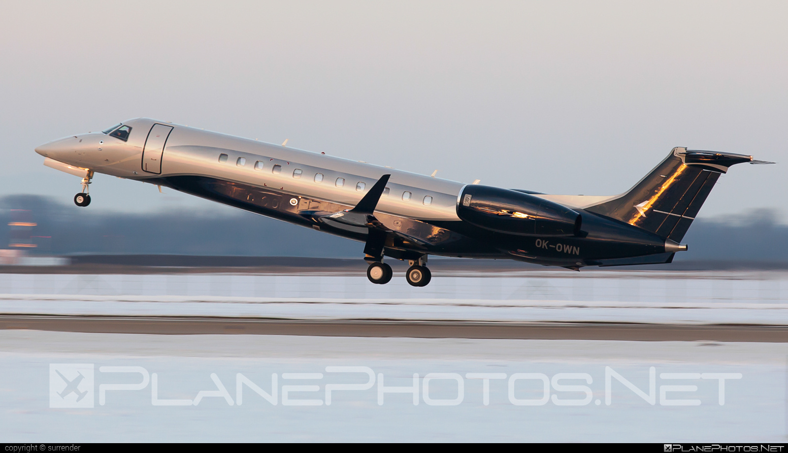 Embraer Legacy 650 (ERJ-135BJ) - OK-OWN operated by ABS Jets #embraer #embraer135 #embraerlegacy #erj135 #erj135bj #legacy650