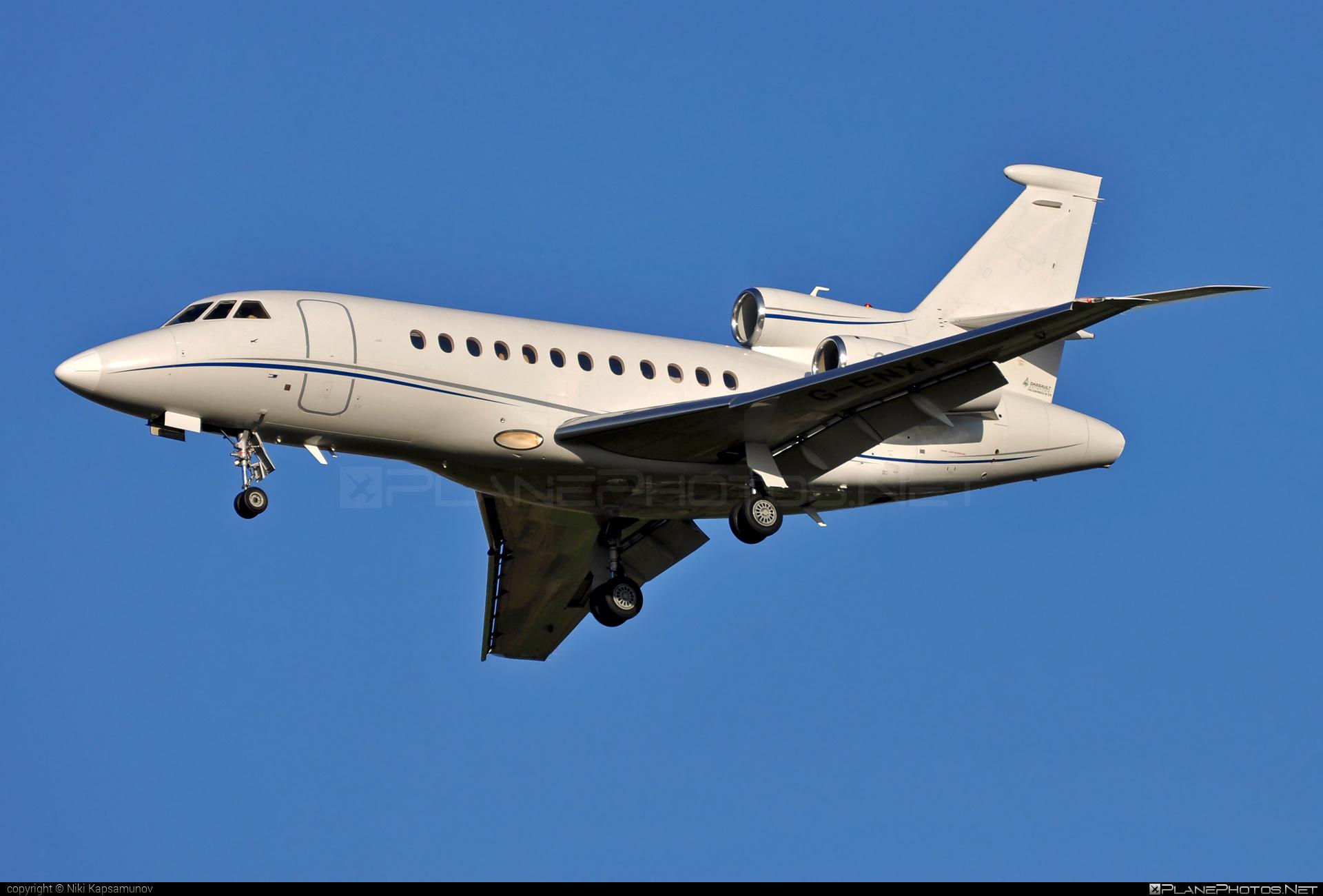 Dassault Falcon 900EX - G-ENXA operated by Enex Aviation #dassault