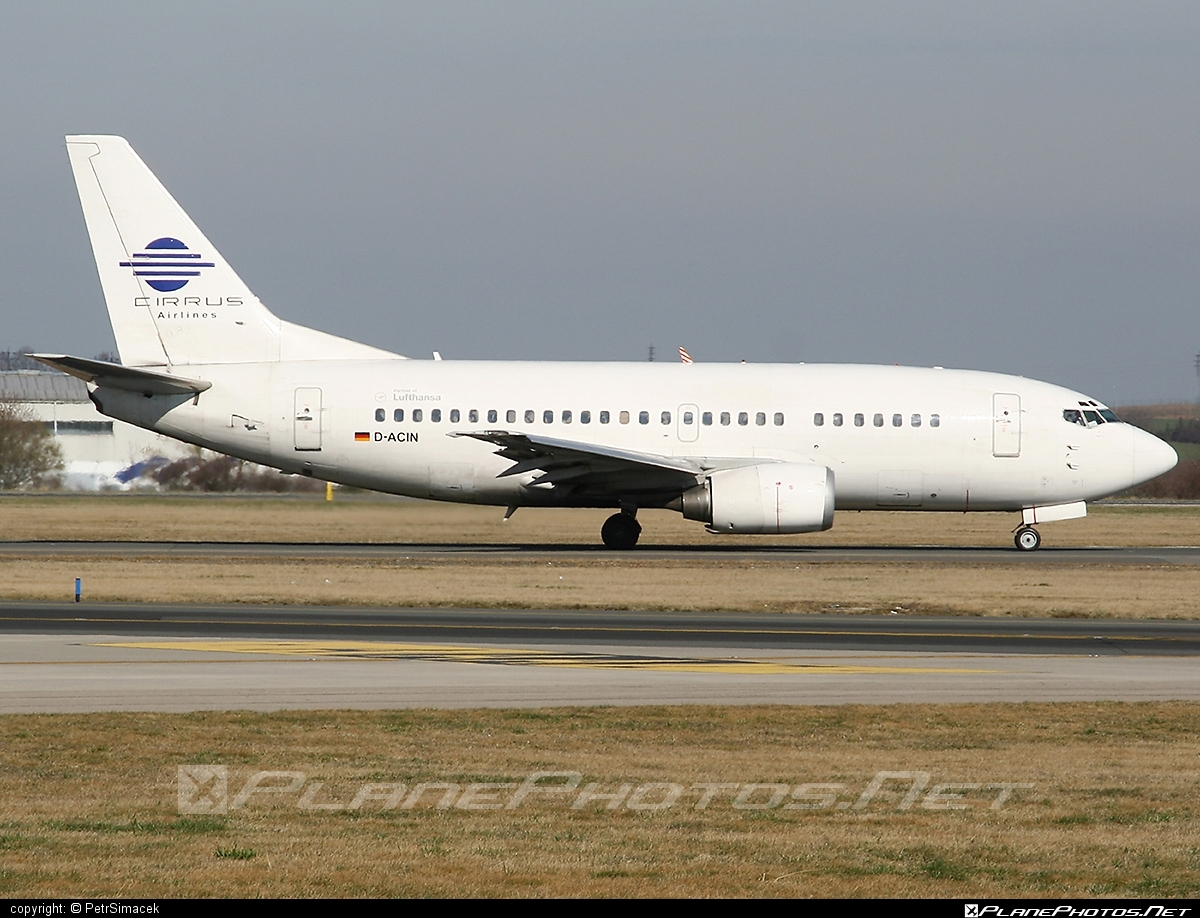Boeing 737-500 - D-ACIN operated by Cirrus Airlines #b737 #boeing #boeing737