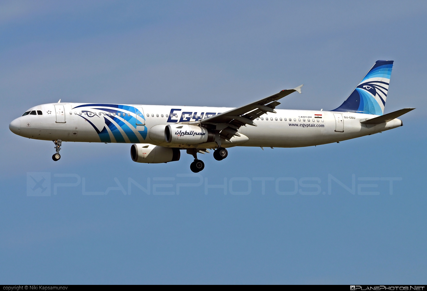 Airbus A321-231 - SU-GBU operated by EgyptAir #a320family #a321 #airbus #airbus321