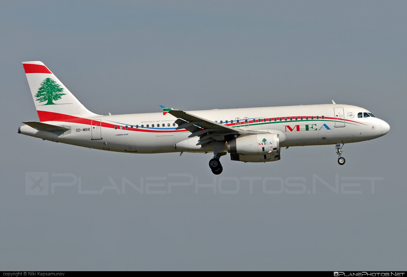 Airbus A320-232 - OD-MRR operated by Middle East Airlines (MEA) #a320 #a320family #airbus #airbus320