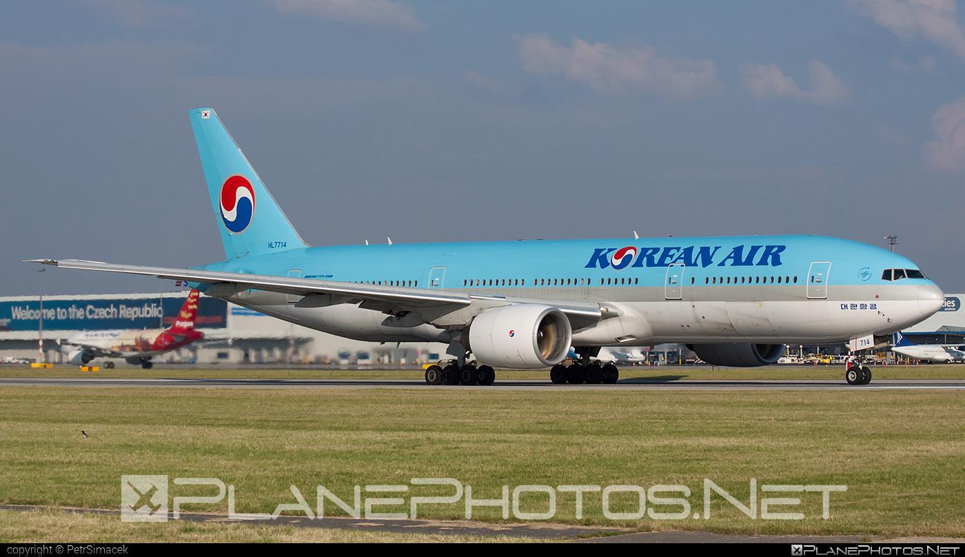 Boeing 777-200ER - HL7714 operated by Korean Air #b777 #b777er #boeing #boeing777 #koreanair #tripleseven