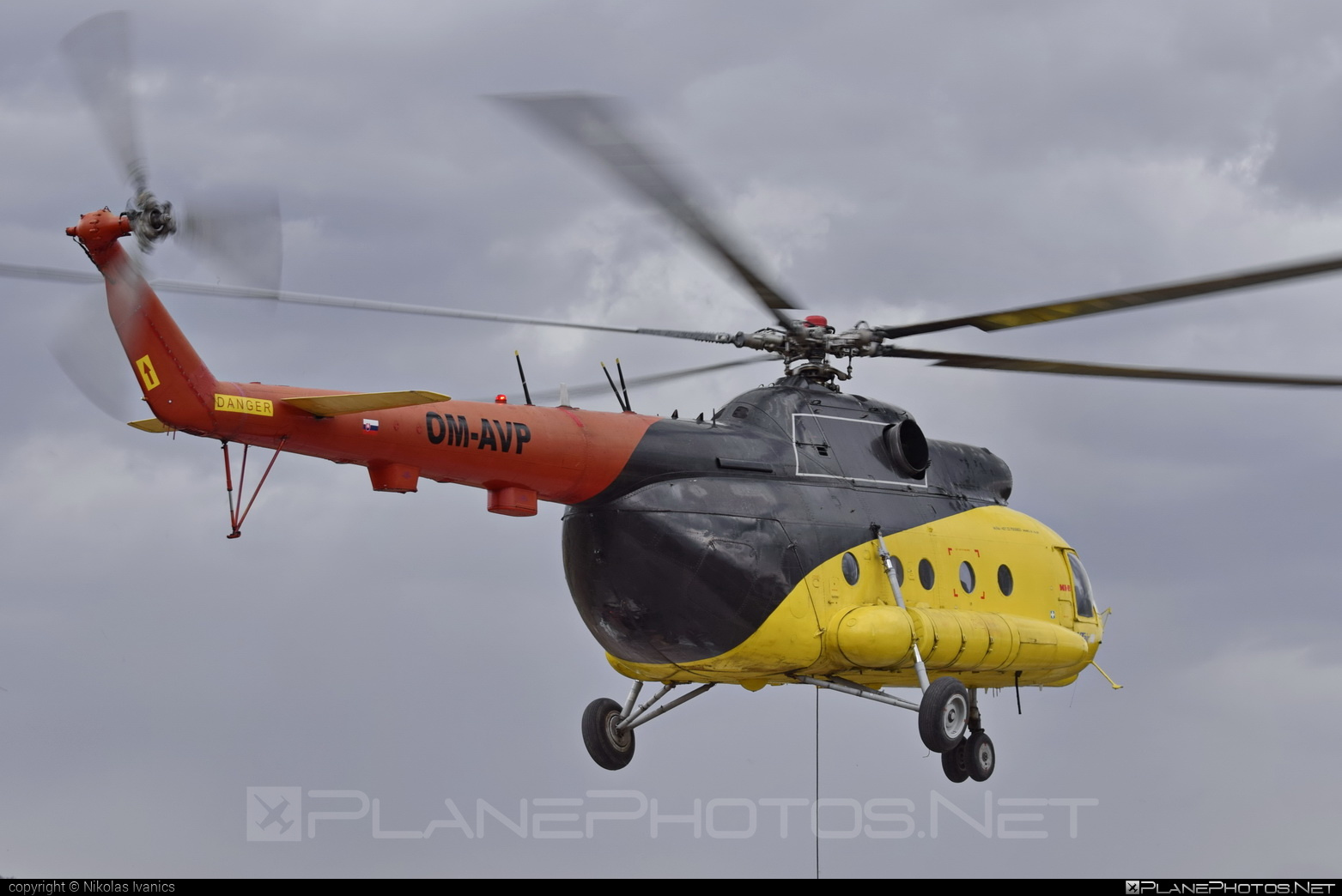 Mil Mi-8T - OM-AVP operated by UTair Europe #mil #milhelicopters #utair #utaireurope