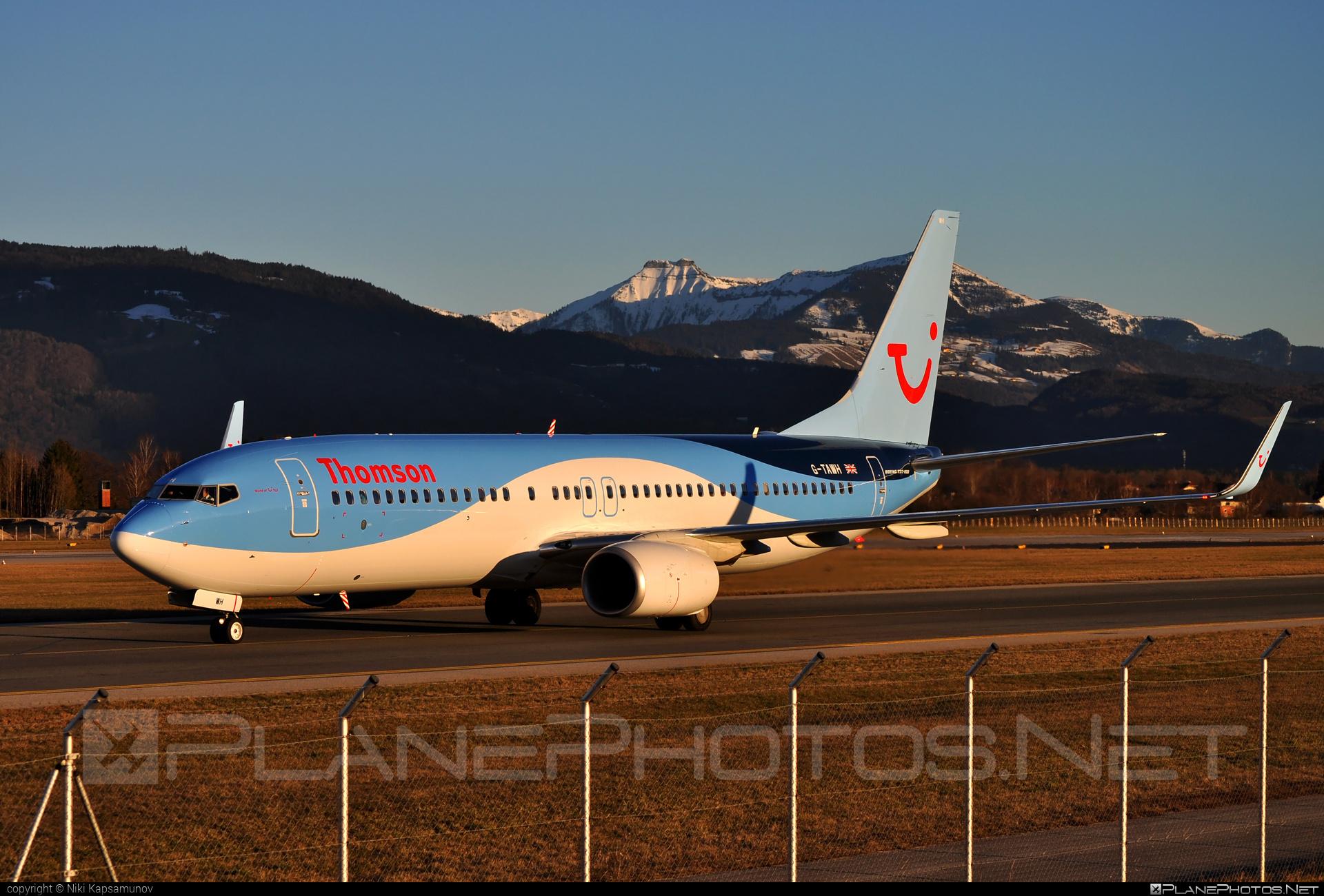 Boeing 737-800 - G-TAWH operated by Thomson Airways #b737 #b737nextgen #b737ng #boeing #boeing737