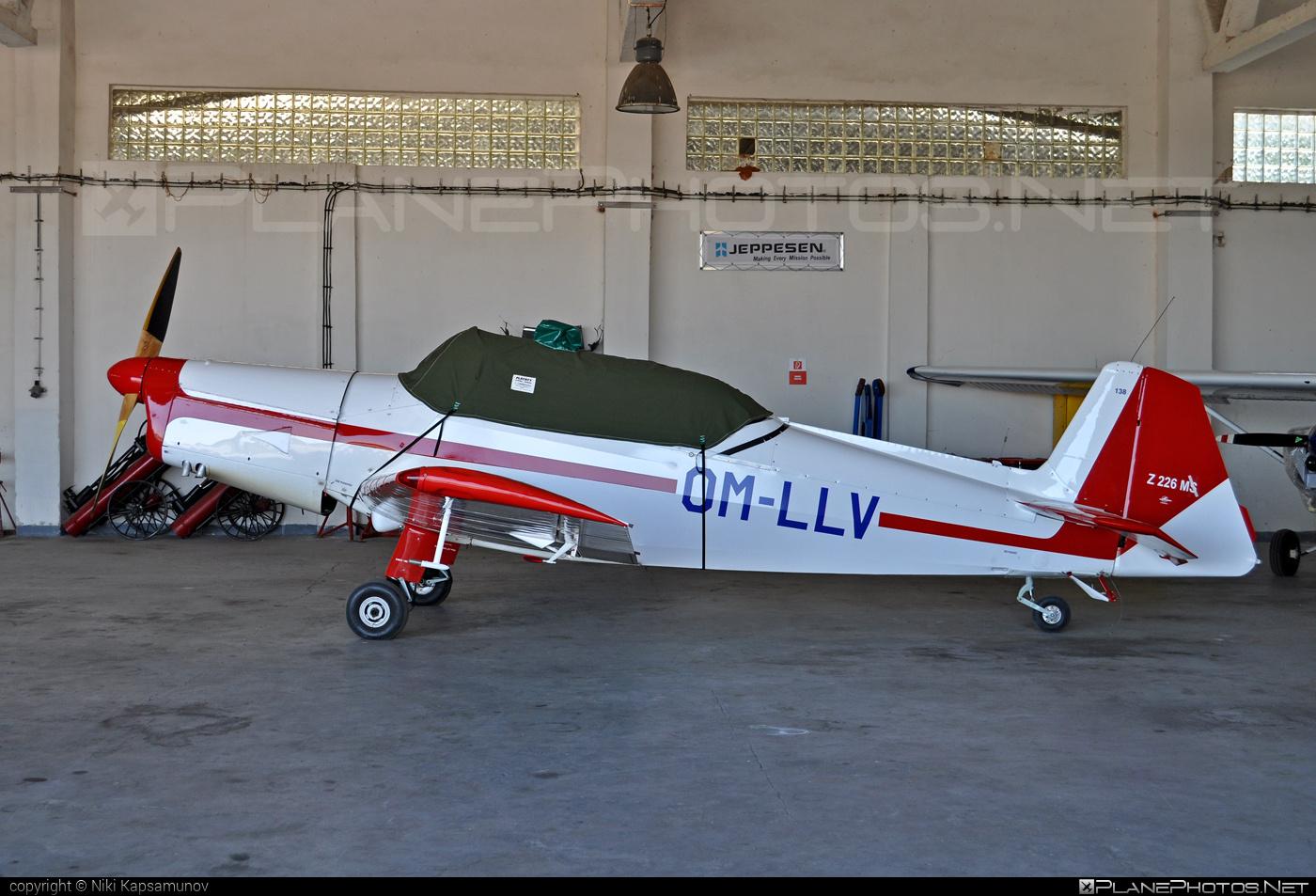 Zlin Z-226M Trenér - OM-LLV operated by Slovenský národný aeroklub (Slovak National Aeroclub) #z226 #z226trener #zlin #zlin226 #zlintrener