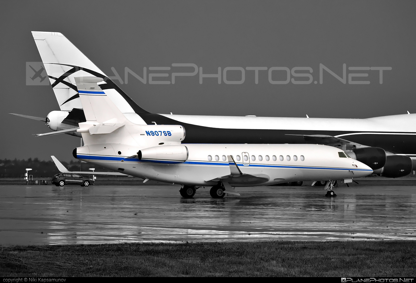 Dassault Falcon 7X - N907SB operated by Private operator #dassault #dassaultfalcon #dassaultfalcon7x #falcon7x