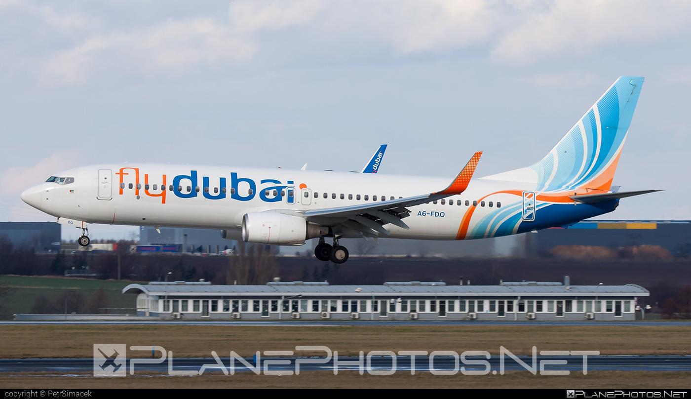 Boeing 737-800 - A6-FDQ operated by flydubai #b737 #b737nextgen #b737ng #boeing #boeing737