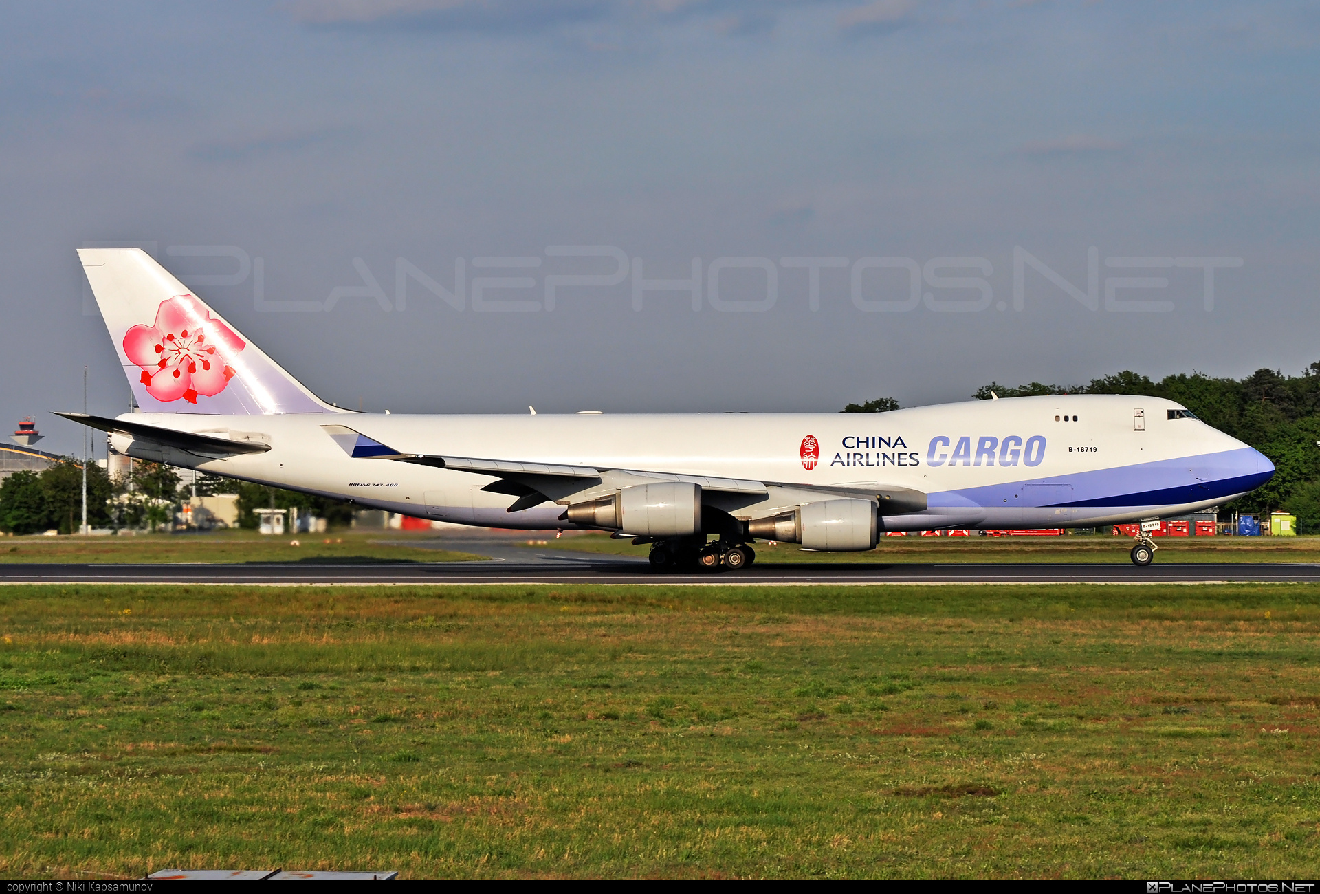 Boeing 747-400F - B-18719 operated by China Airlines Cargo #b747 #boeing #boeing747 #chinaairlines #chinaairlinescargo #jumbo