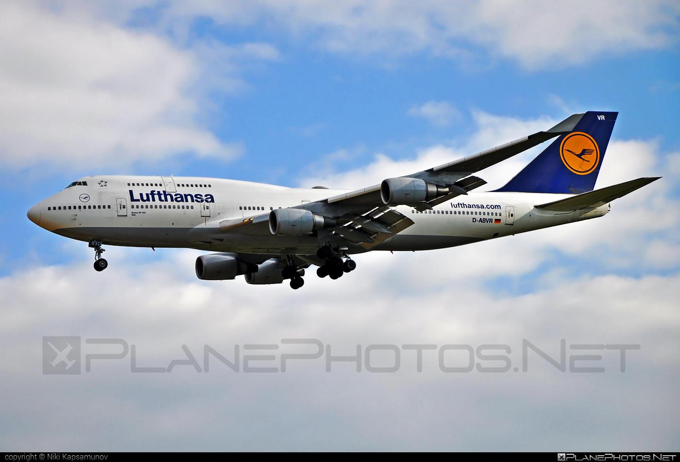 Boeing 747-400 - D-ABVR operated by Lufthansa #b747 #boeing #boeing747 #jumbo #lufthansa