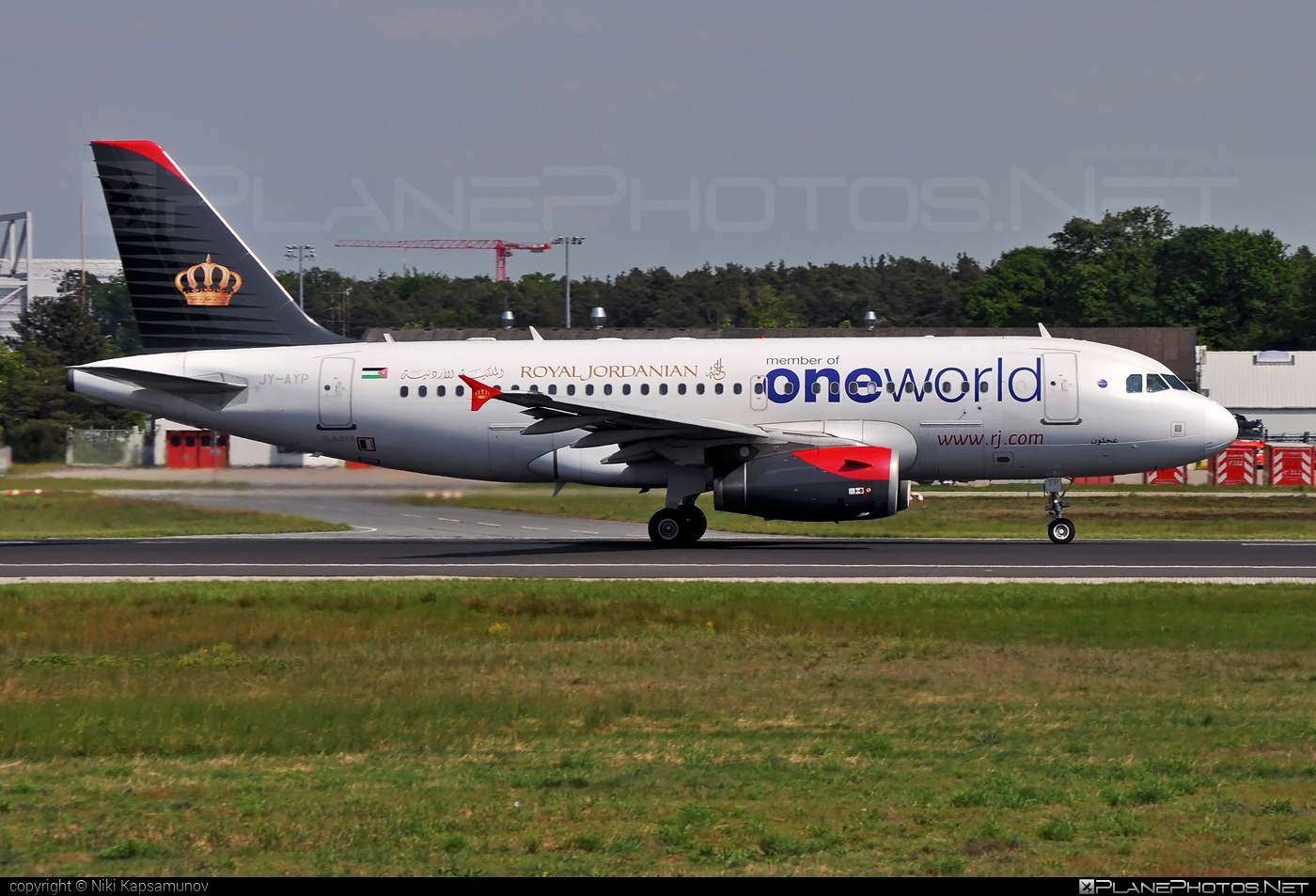 Airbus A319-132 - JY-AYP operated by Royal Jordanian #a319 #a320family #airbus #airbus319 #oneworld