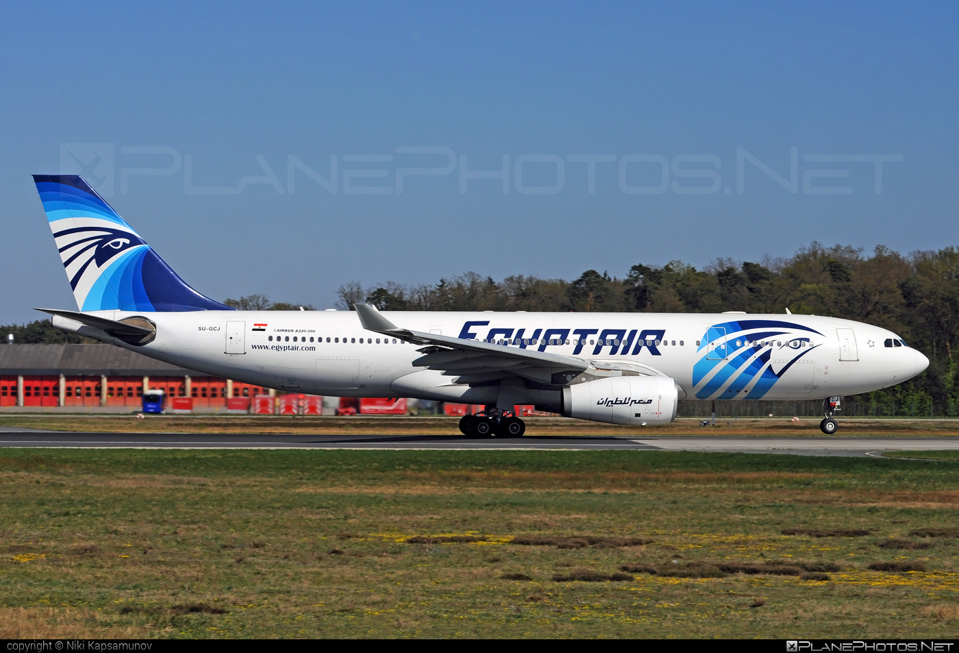 Airbus A330-243 - SU-GCJ operated by EgyptAir #a330 #a330family #airbus #airbus330