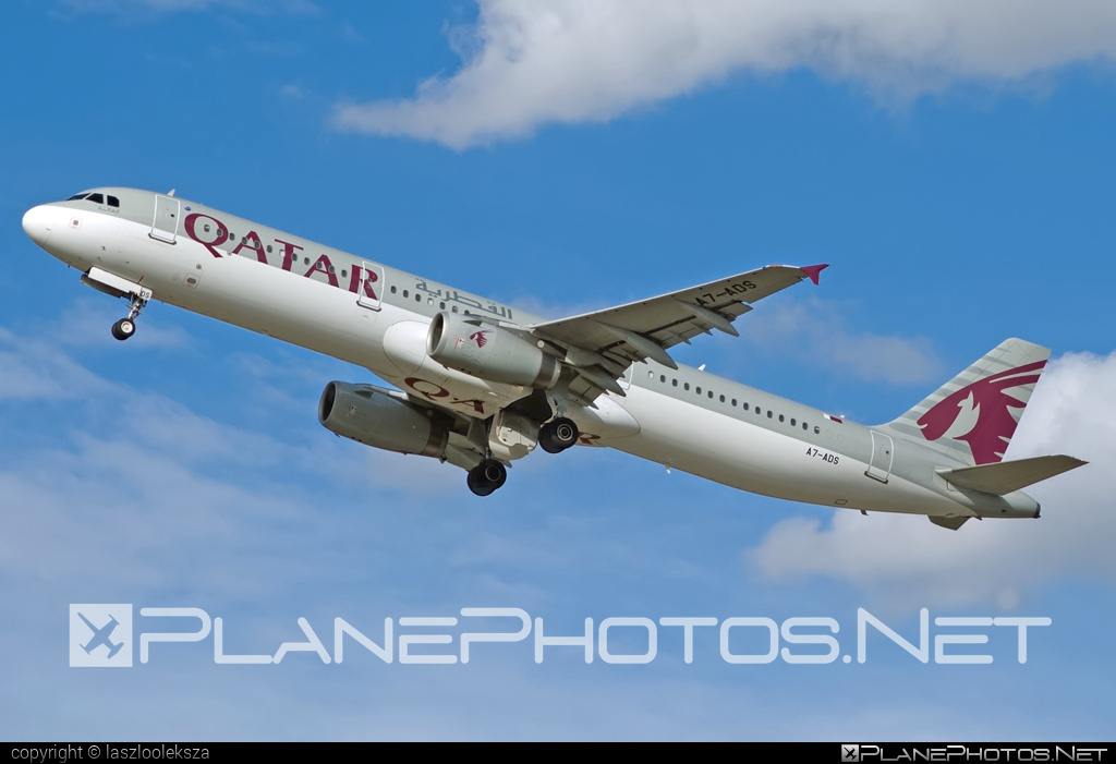 Airbus A321-231 - A7-ADS operated by Qatar Airways #a320family #a321 #airbus #airbus321 #qatarairways