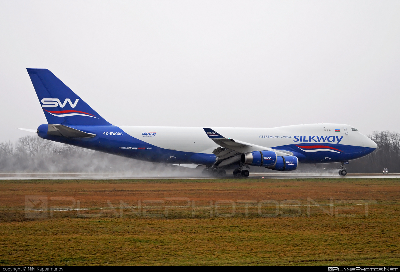 Boeing 747-400F - 4K-SW008 operated by Silk Way West Airlines #b747 #boeing #boeing747 #jumbo #silkwayairlines #silkwaywestairlines