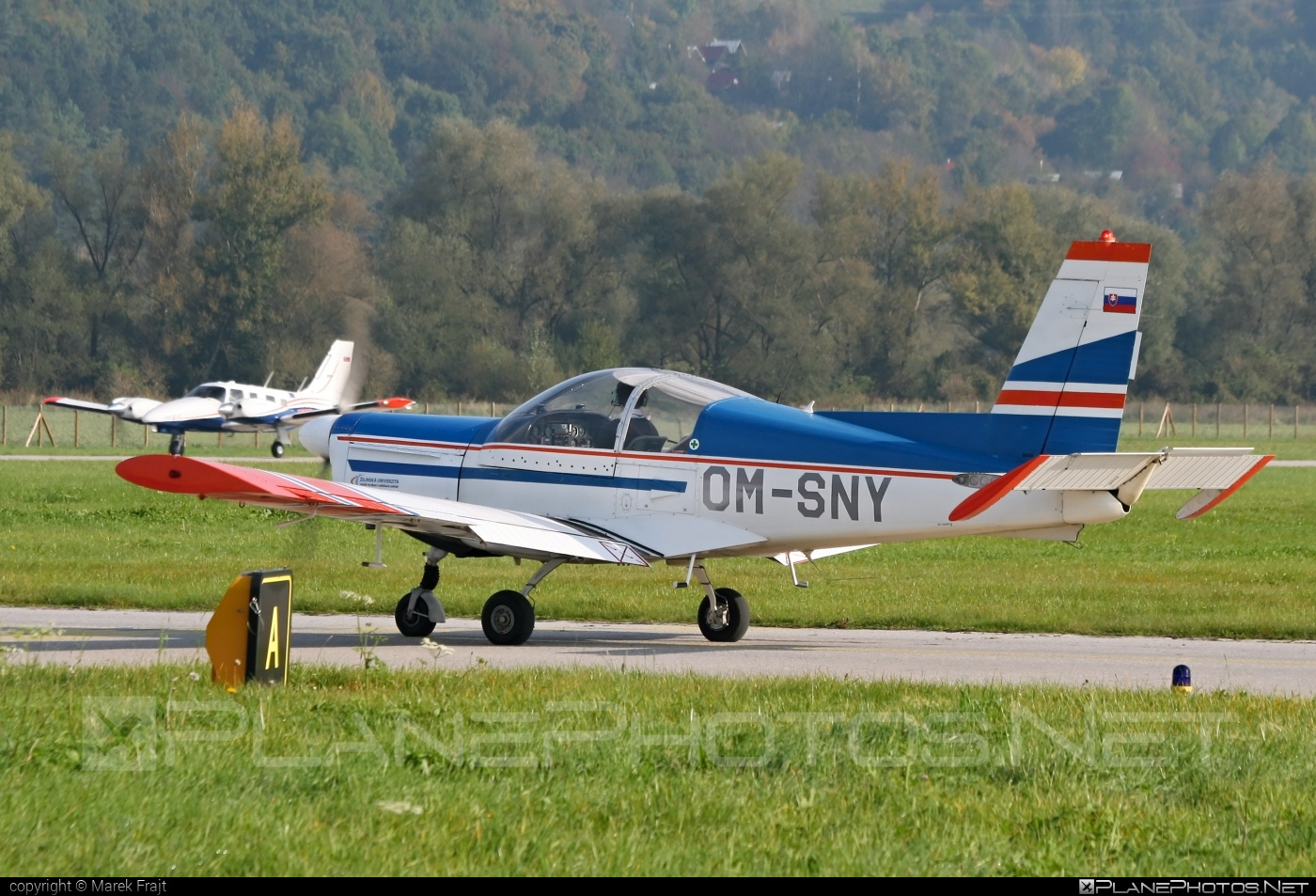 Zlin Z-142 - OM-SNY operated by University of Žilina #z142 #zlin #zlin142