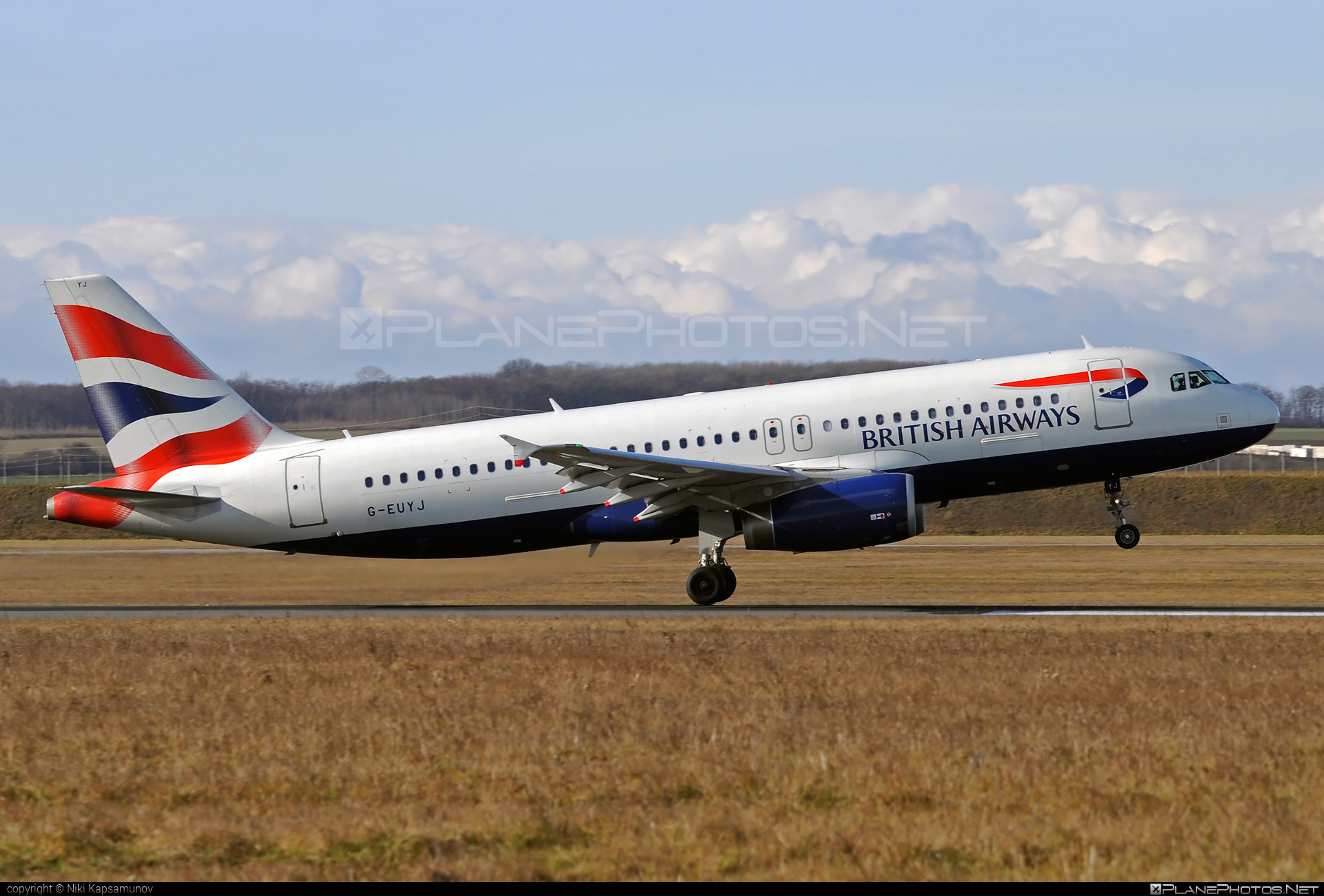 Airbus A320-232 - G-EUYJ operated by British Airways #a320 #a320family #airbus #airbus320 #britishairways