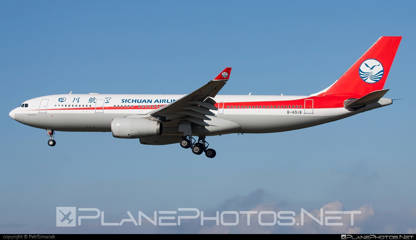 Airbus A330-243 - B-6518 operated by Sichuan Airlines #a330 #a330family #airbus #airbus330