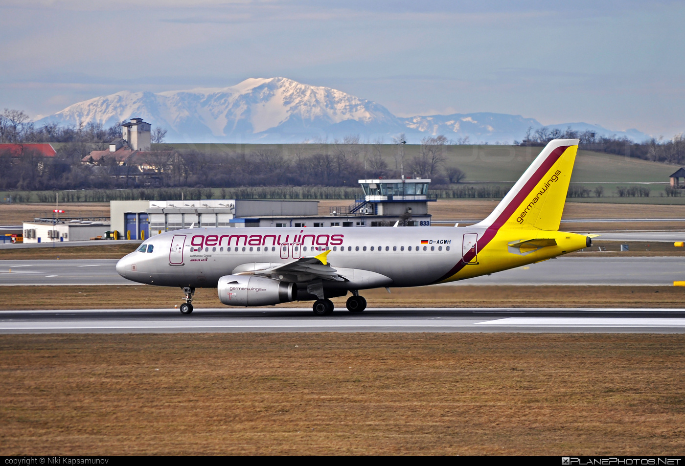 Airbus A319-132 - D-AGWH operated by Germanwings #a319 #a320family #airbus #airbus319