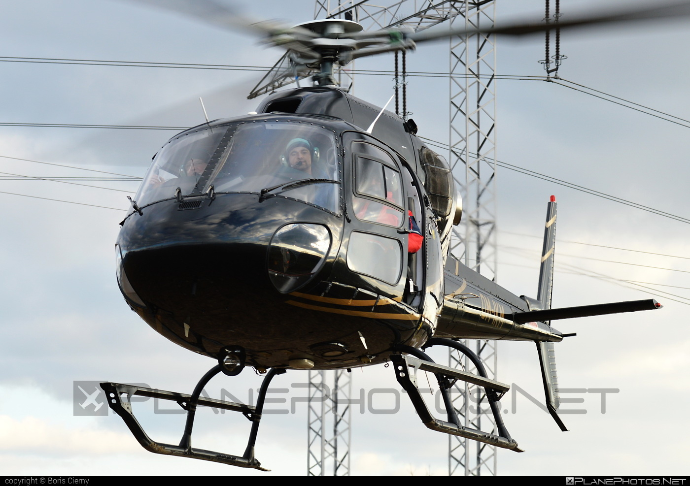 Eurocopter AS355 N Ecureuil 2 - OM-IKM operated by EHC Service #eurocopter