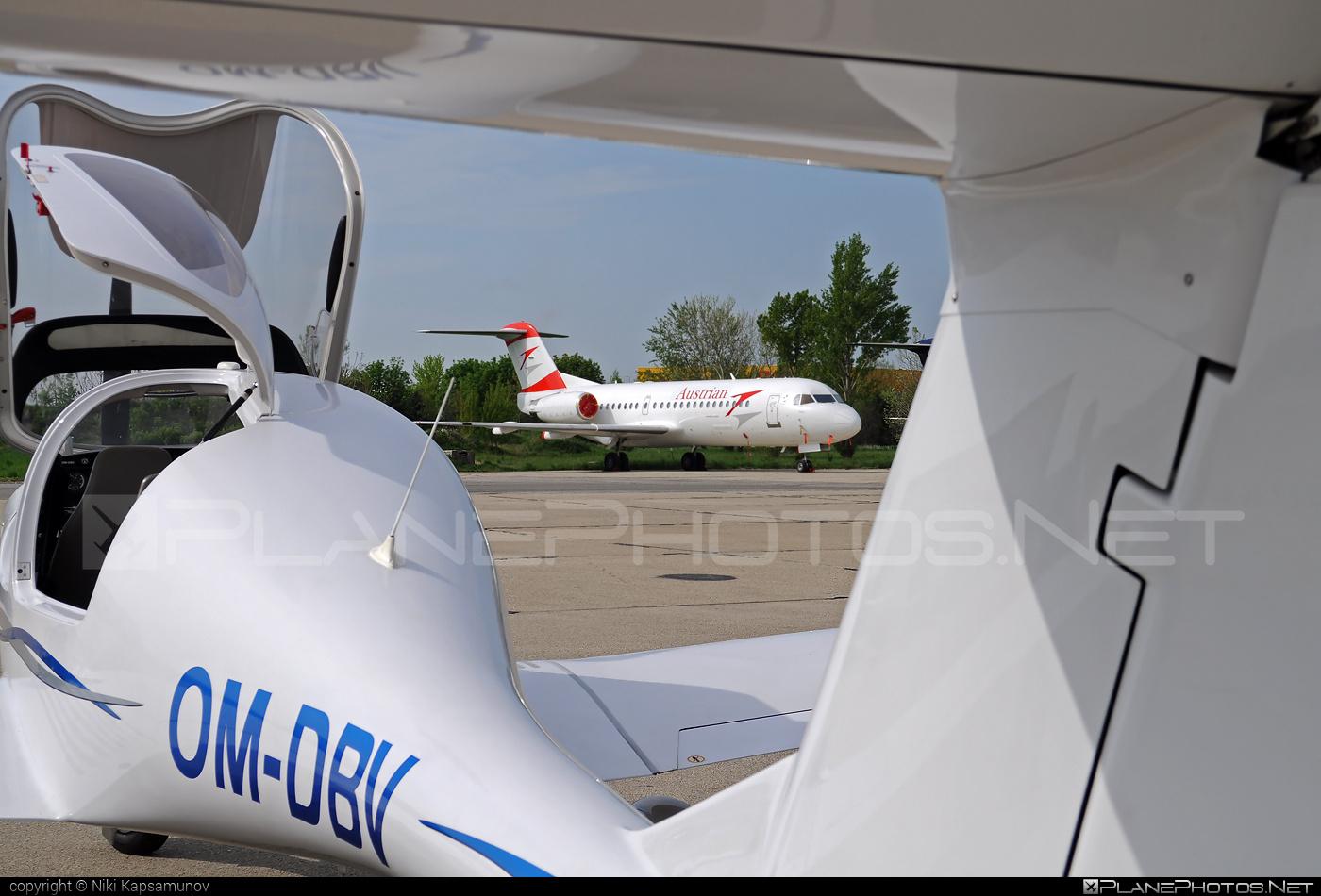 Fokker 70 - OE-LFK operated by Austrian Airlines #fokker #fokker70