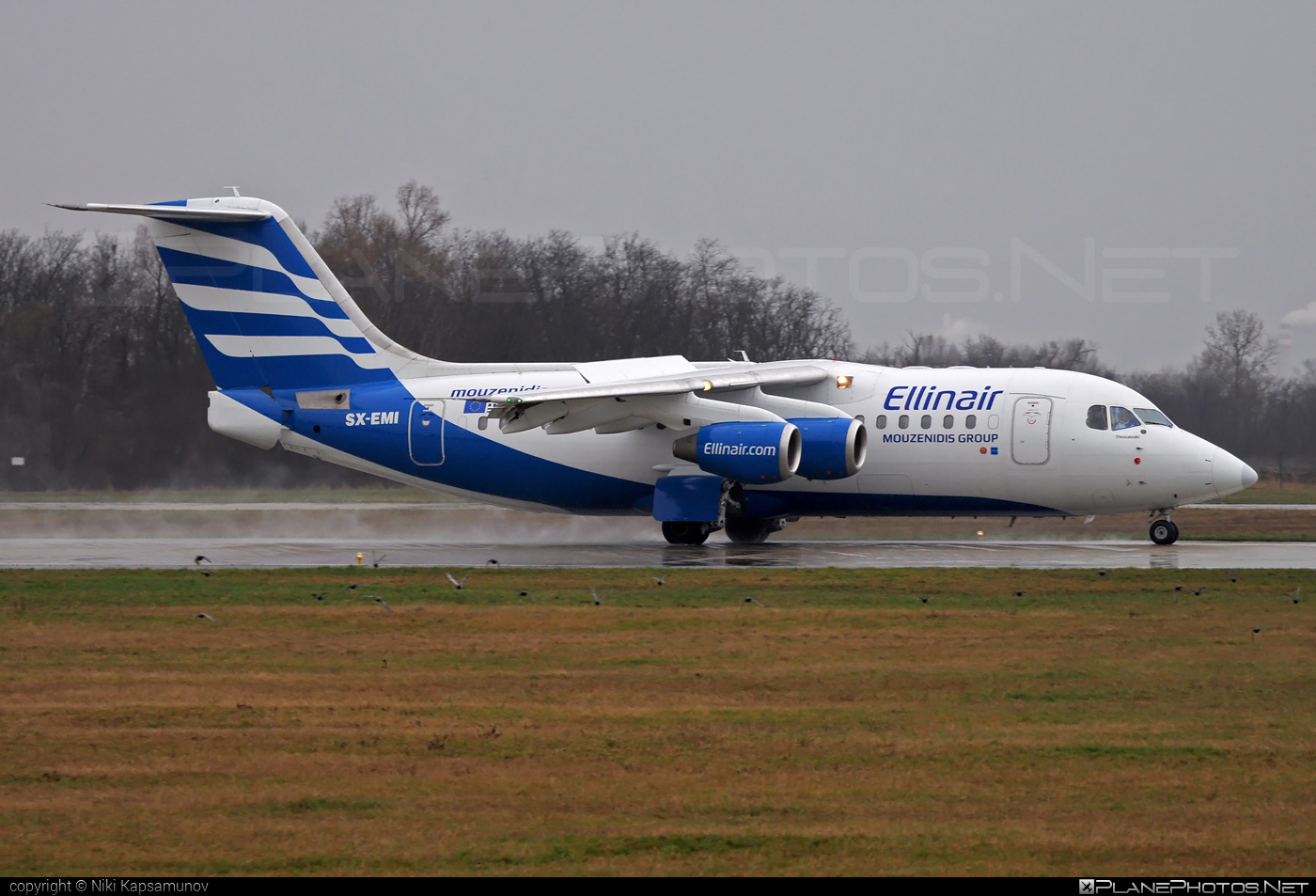 British Aerospace Avro RJ85 - SX-EMI operated by Ellinair #avro146rj85 #avrorj85 #bae146 #britishaerospace