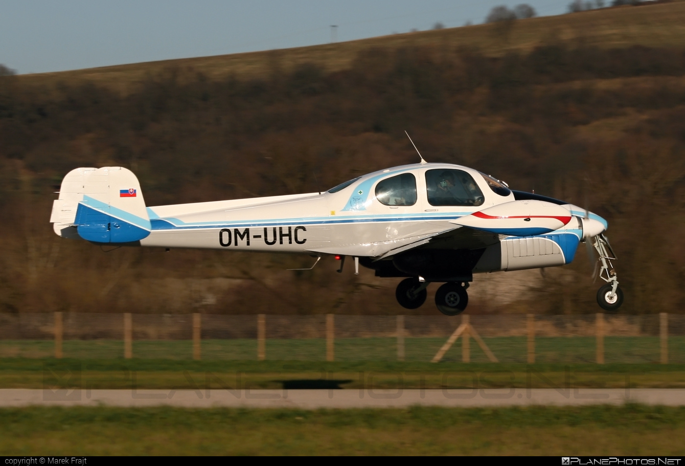 Let L-200D Morava - OM-UHC operated by University of Žilina #let