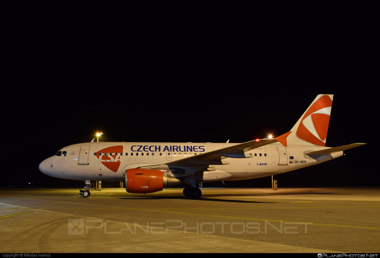 Airbus A319-112 - OK-NEN operated by CSA Czech Airlines #a319 #a320family #airbus #airbus319 #csa #czechairlines