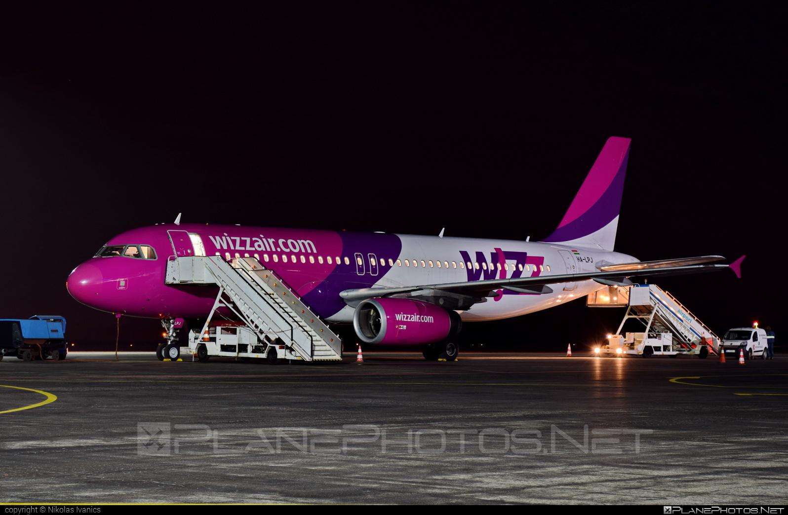 Wizz Air Airbus A320-232 - HA-LPJ #a320 #a320family #airbus #wizz #wizzair