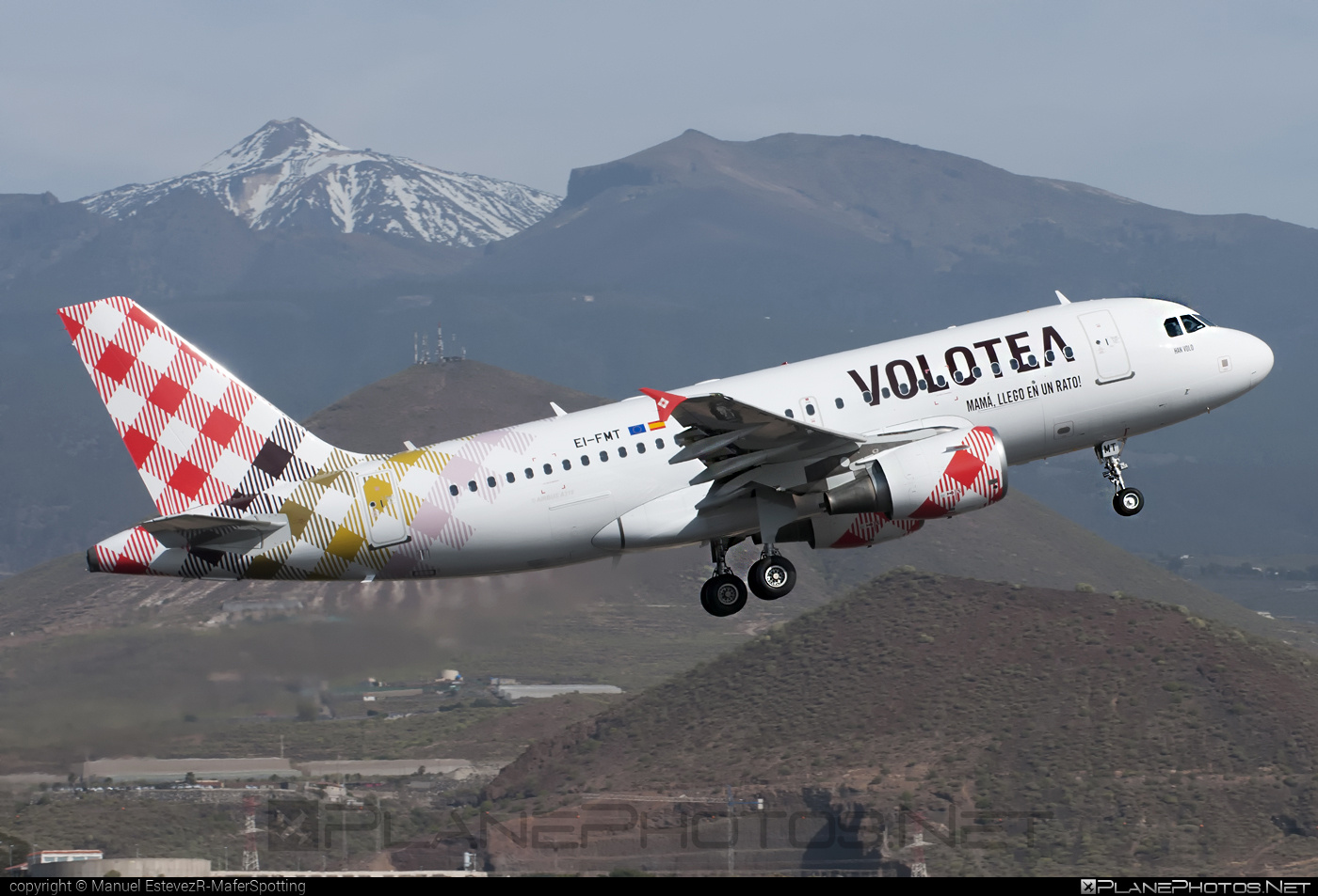 Airbus A319-112 - EI-FMT operated by Volotea #a319 #a320family #airbus #airbus319
