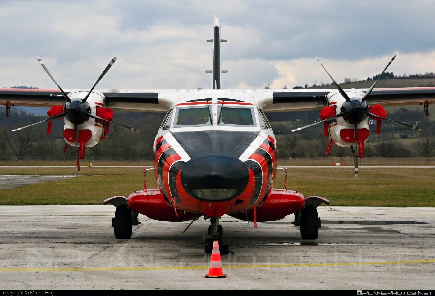Let L-410UVP-E-LW Turbolet - OM-SYI operated by Dopravný úrad SR (Transport Authority of the Slovak Republic) #let