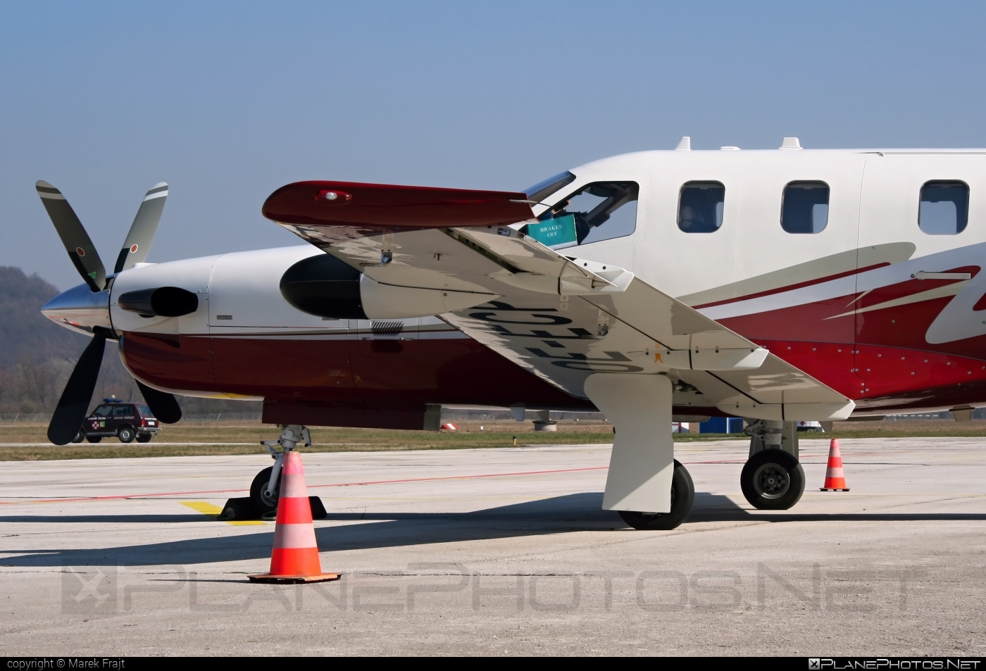 Socata TBM850 - OE-ECP operated by Private operator #socata