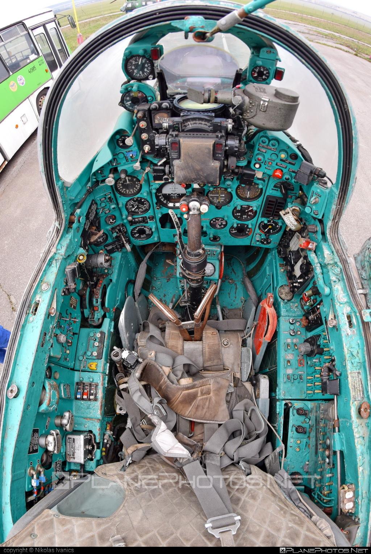 Mikoyan-Gurevich MiG-21UM - 0268 operated by Vzdušné sily OS SR (Slovak Air Force) #mig #mig21 #mig21um #mikoyangurevich #slovakairforce #vzdusnesilyossr