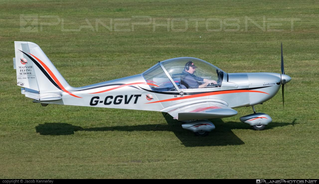 Evektor EV-97 teamEurostar UK - G-CGVT operated by Mainair Flying School #evektor