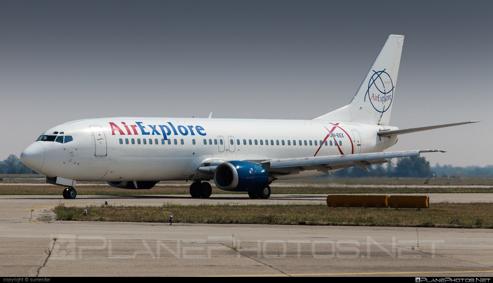 Boeing 737-400 - OM-EEX operated by AirExplore #airexplore #b737 #boeing #boeing737