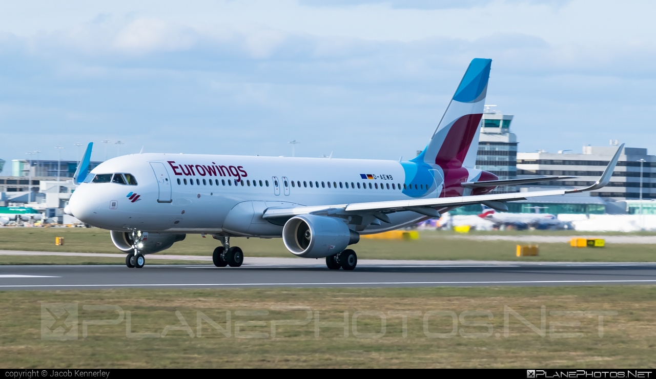 Airbus A320-214 - D-AEWB operated by Eurowings #a320 #a320family #airbus #airbus320 #eurowings