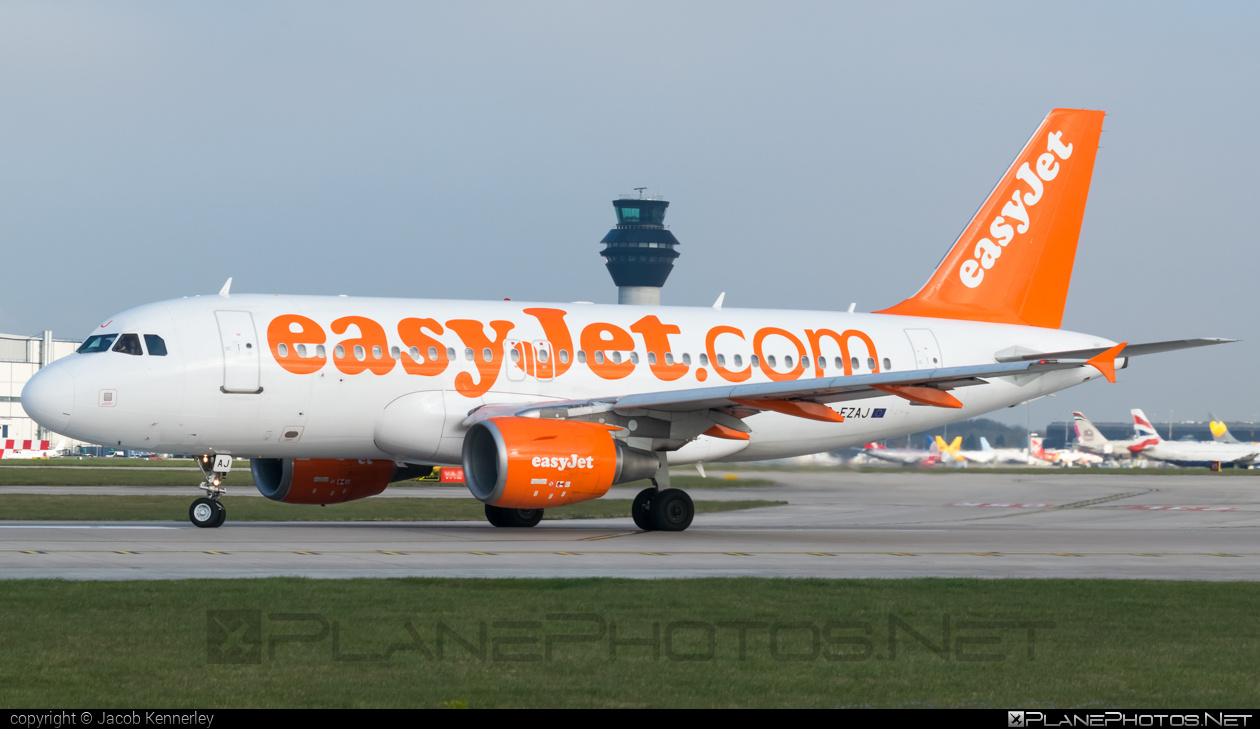 Airbus A319-111 - G-EZAJ operated by easyJet #a319 #a320family #airbus #airbus319 #easyjet