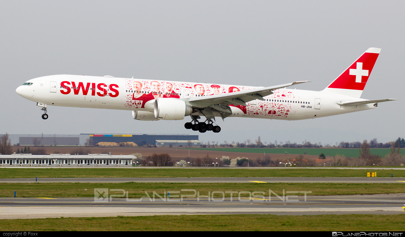 Boeing 777-300ER - HB-JNA operated by Swiss International Air Lines #b777 #b777er #boeing #boeing777 #swiss #swissairlines #tripleseven