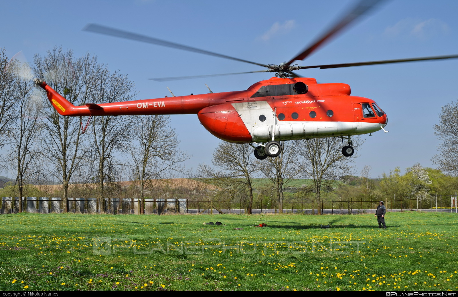 Mil Mi-8T - OM-EVA operated by TECH-MONT Helicopter company #mil #milhelicopters