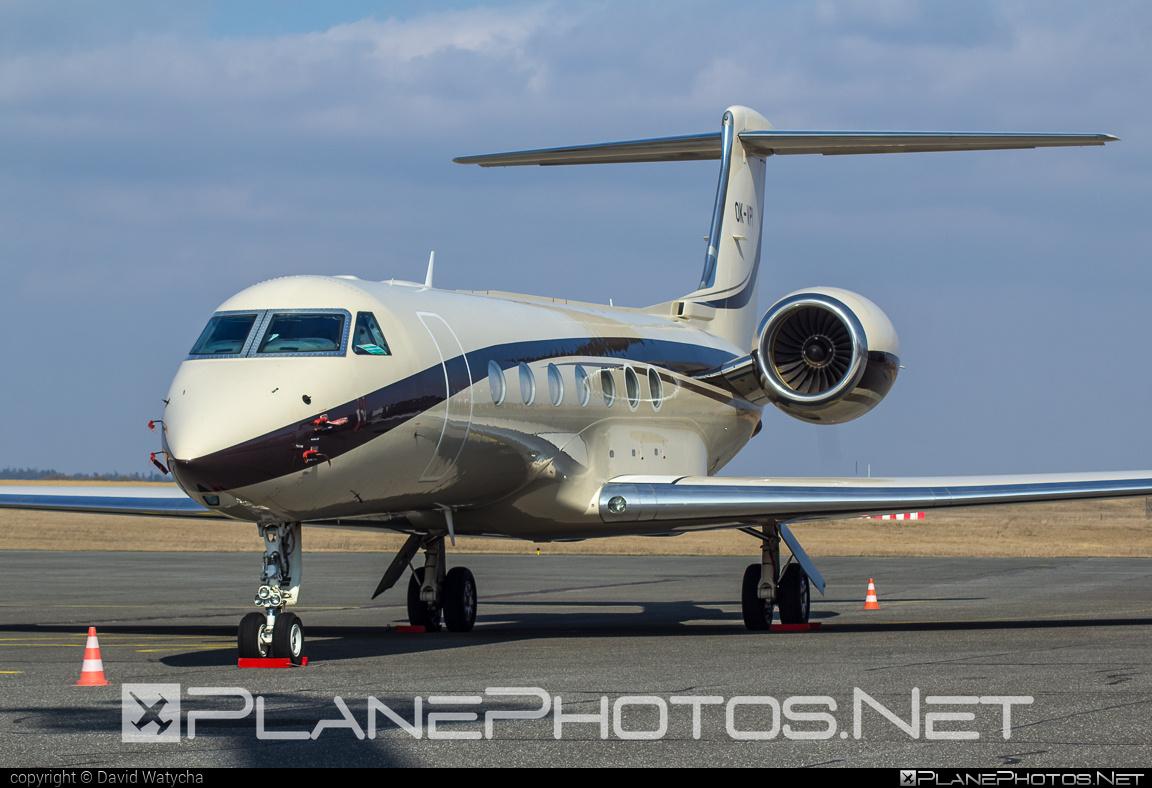 Gulfstream G550 - OK-VPI operated by ABS Jets #g550 #gulfstream #gulfstreamg550