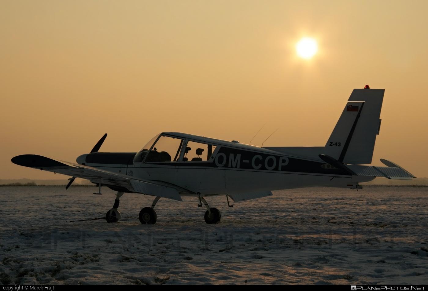 Zlin Z-43 - OM-COP operated by Aeroklub Nové Zámky #z43 #zlin #zlin43