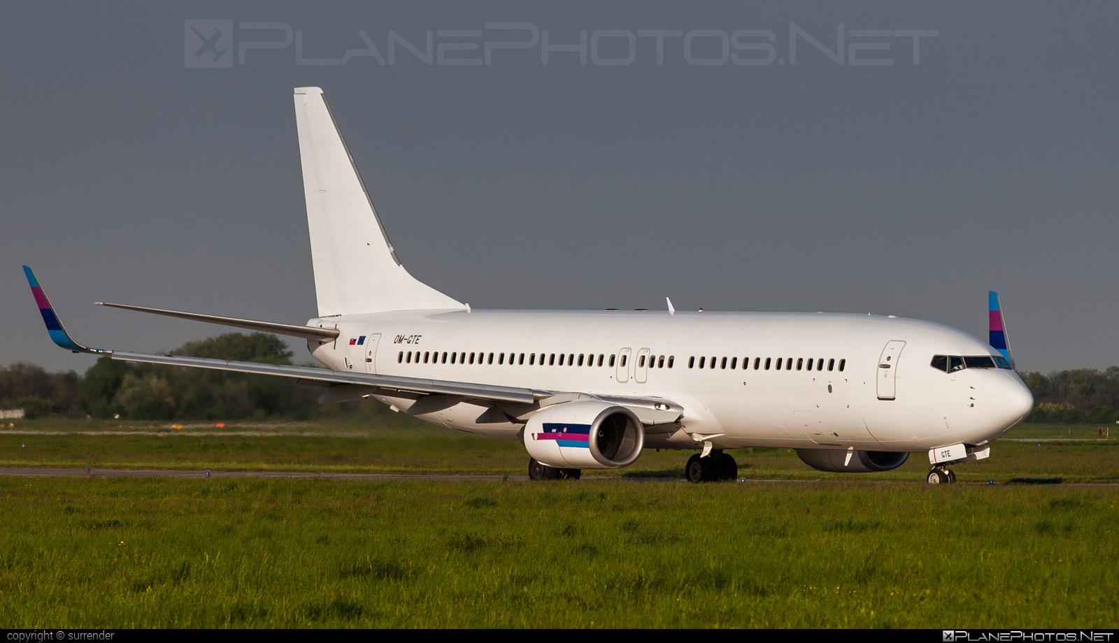 Boeing 737-800 - OM-GTE operated by Go2Sky #b737 #b737nextgen #b737ng #boeing #boeing737 #go2sky