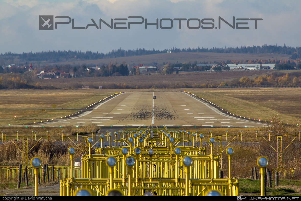 Poprad Tatry airport overview