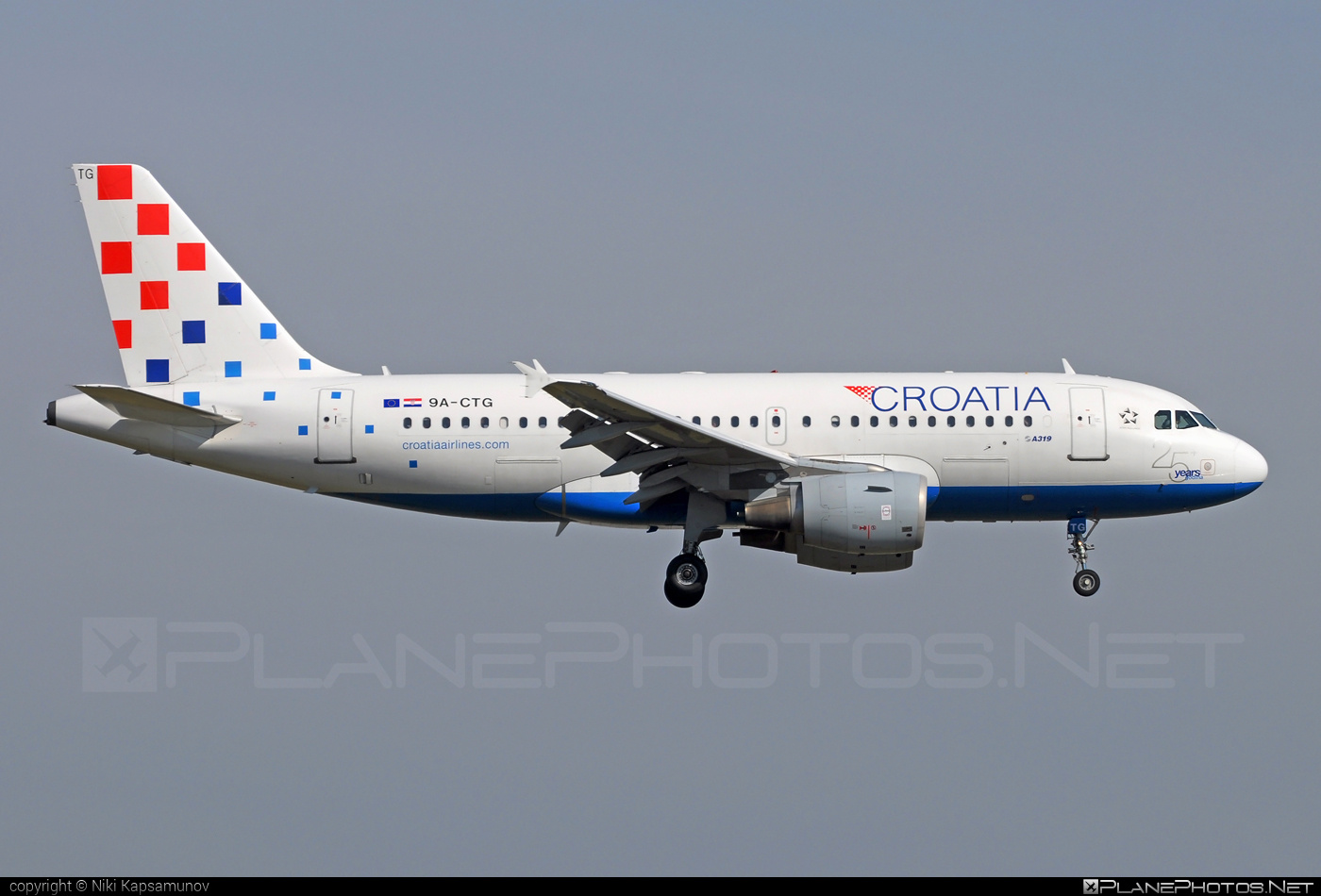 Airbus A319-112 - 9A-CTG operated by Croatia Airlines #a319 #a320family #airbus #airbus319
