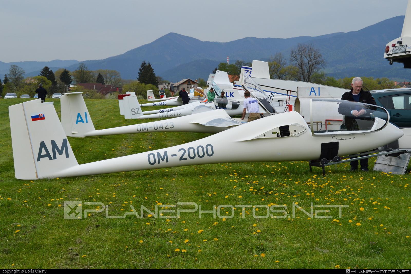Schempp-Hirth Standard Cirrus 75 - OM-2000 operated by Slovenský národný aeroklub (Slovak National Aeroclub) #schempphirth