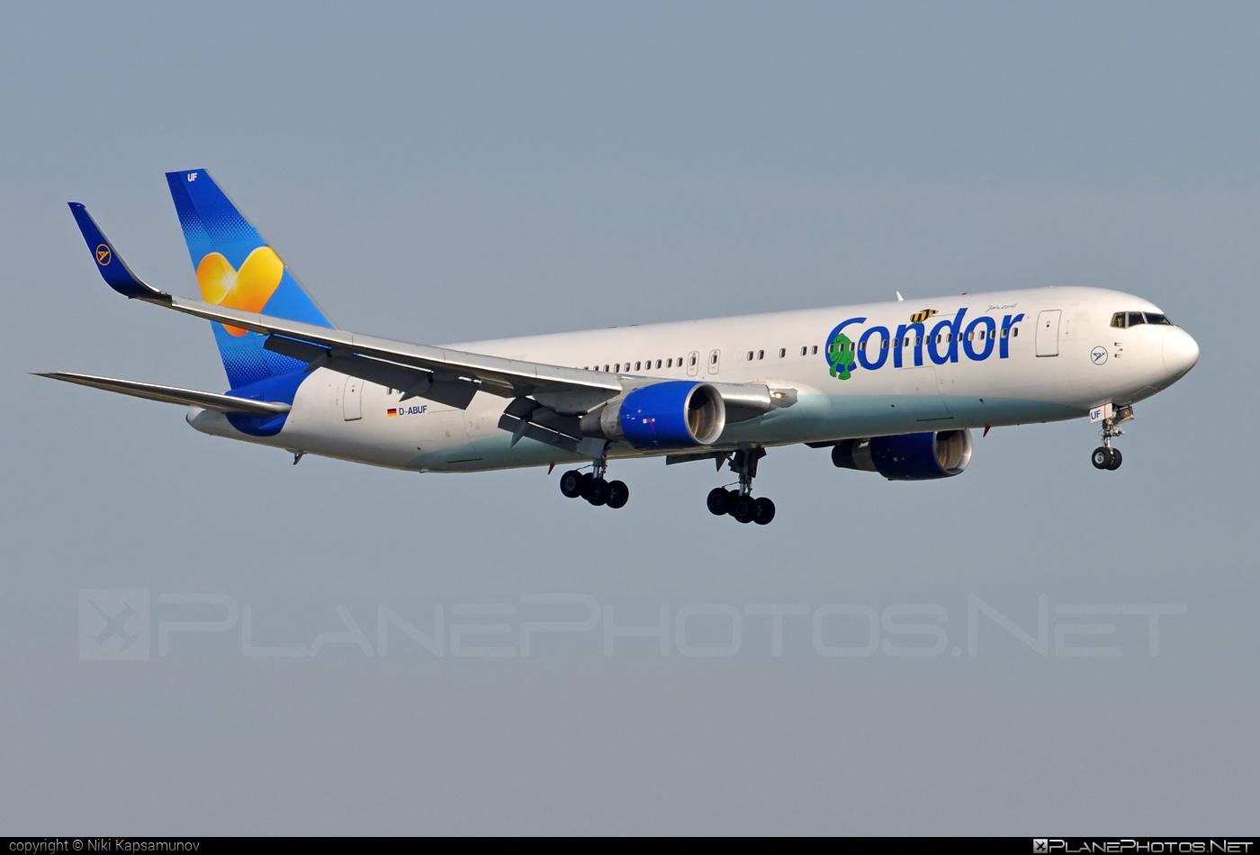 Condor Boeing 767-300ER - D-ABUF #b767 #b767er #boeing #boeing767
