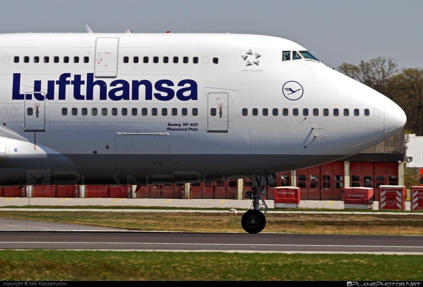 Boeing 747-400 - D-ABVT operated by Lufthansa #b747 #boeing #boeing747 #jumbo #lufthansa